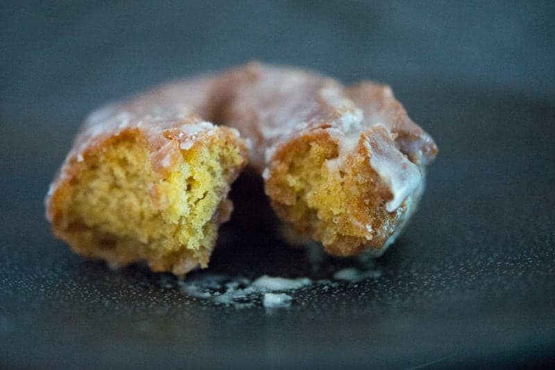 Old Fashioned Pumpkin Donuts