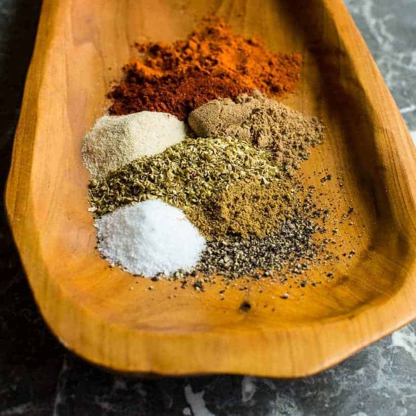 easy taco seasoning recipe ingredients