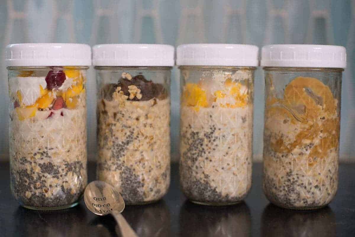 Overnight Oats four Ways