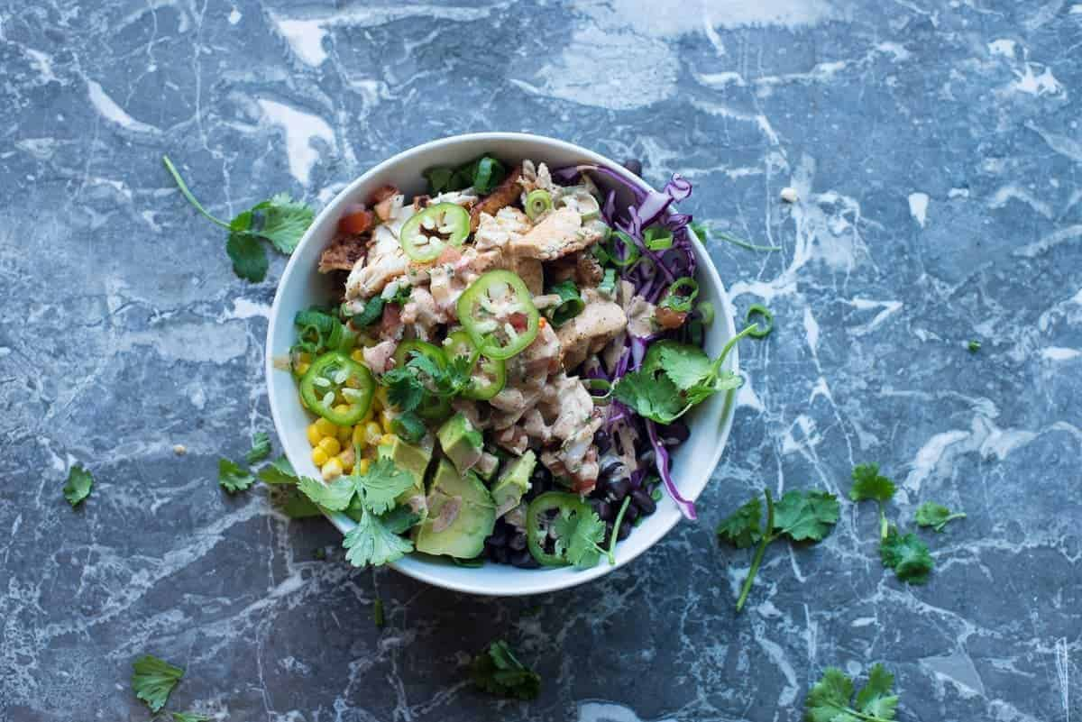 Chipotle Chicken Beast Bowl