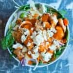 Hot wing meal prep recipe. All the flavor of hot wings in a healthy easy to make protein bowl. by foodology geek.