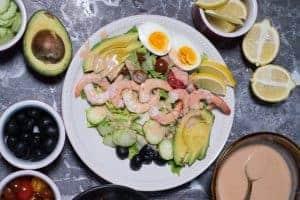 Shrimp Louie Salad by foodology geek