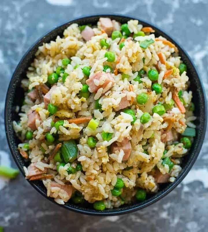 Spam Fried Rice Recipe by foodology geek