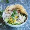Vegan burrito bowl recipe by foodology geek