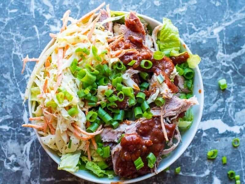 Barbecue Pulled Pork Beast Bowl