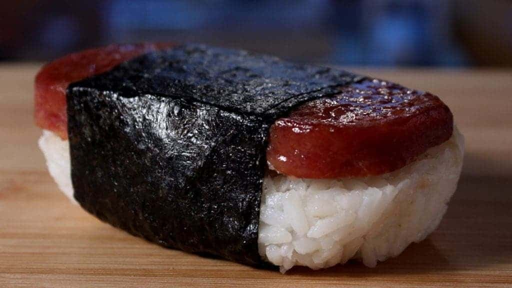 spam musubi how to