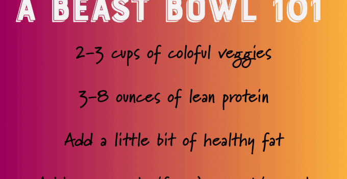 Why Beast Bowls? Beast Bowl Nutrition