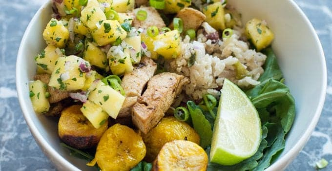 Easy Jerk Chicken Beast Bowl