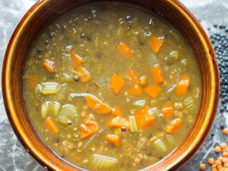 Lentil and Farro Soup