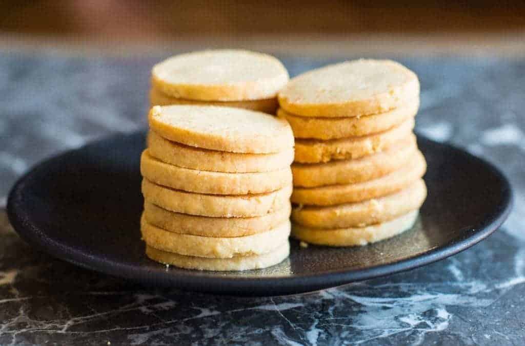 Parmesan Shortbread biscuits recipe by foodology geek