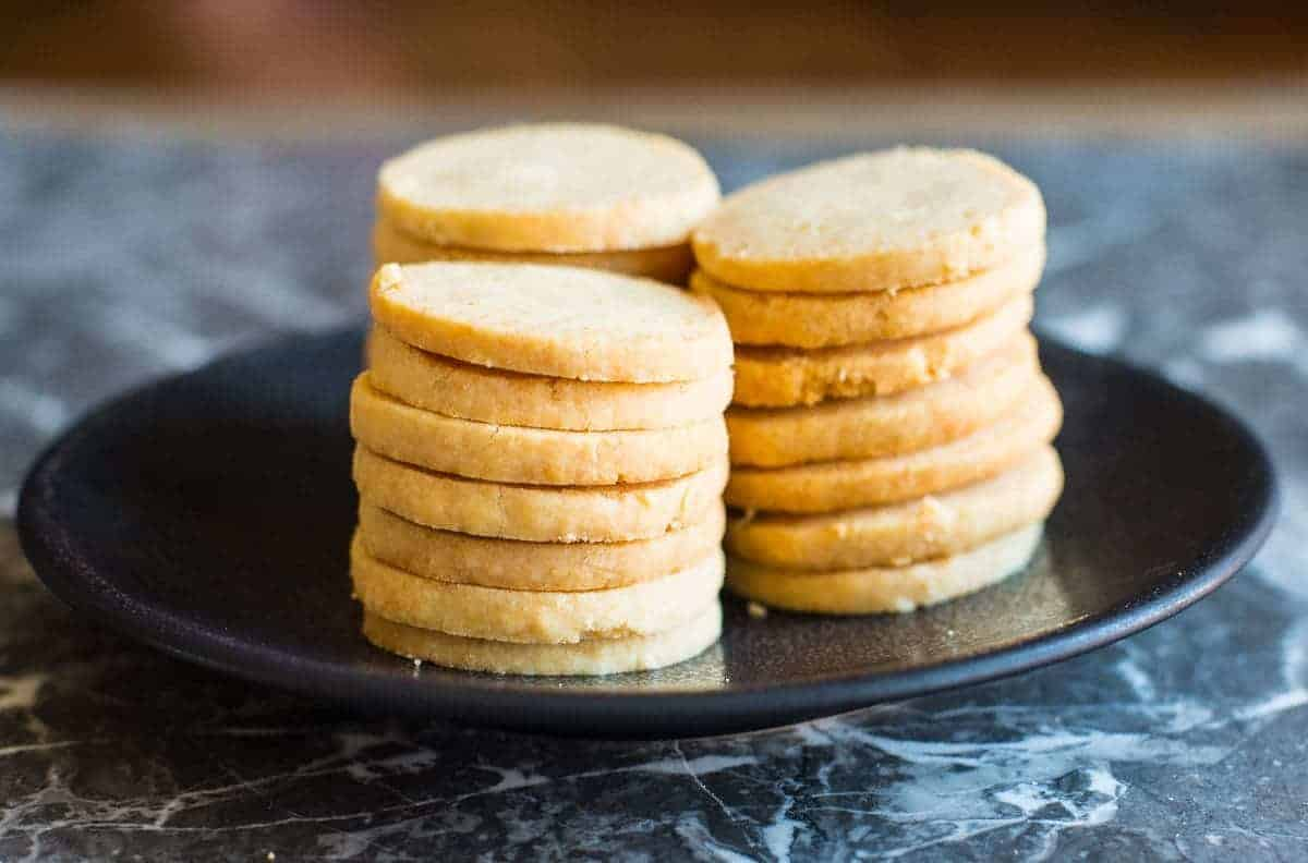 Parmesan Shortbread biscuits