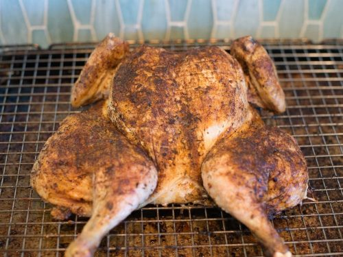 Roasted Jerk Chicken recipe by foodology geek.