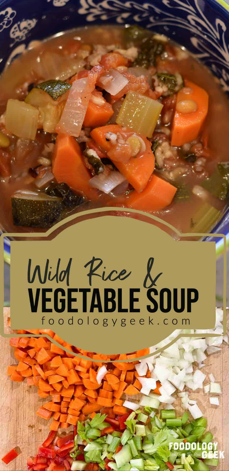 wild rice and vegetable soup recipe