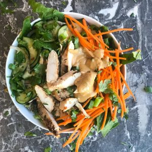 Chicken Satay Beast Bowl – It's all about the Sauce