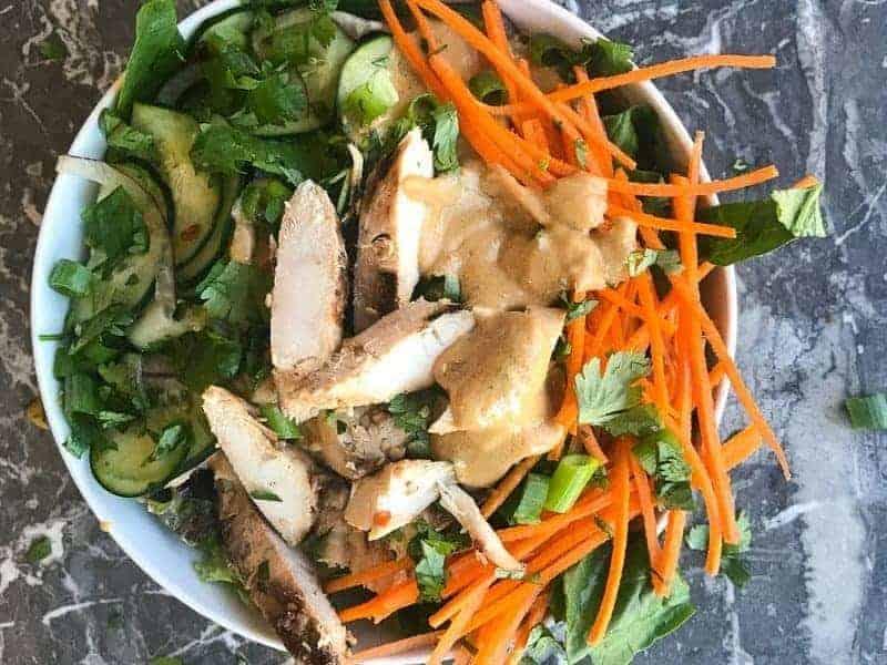Chicken Satay Beast Bowl Recipe