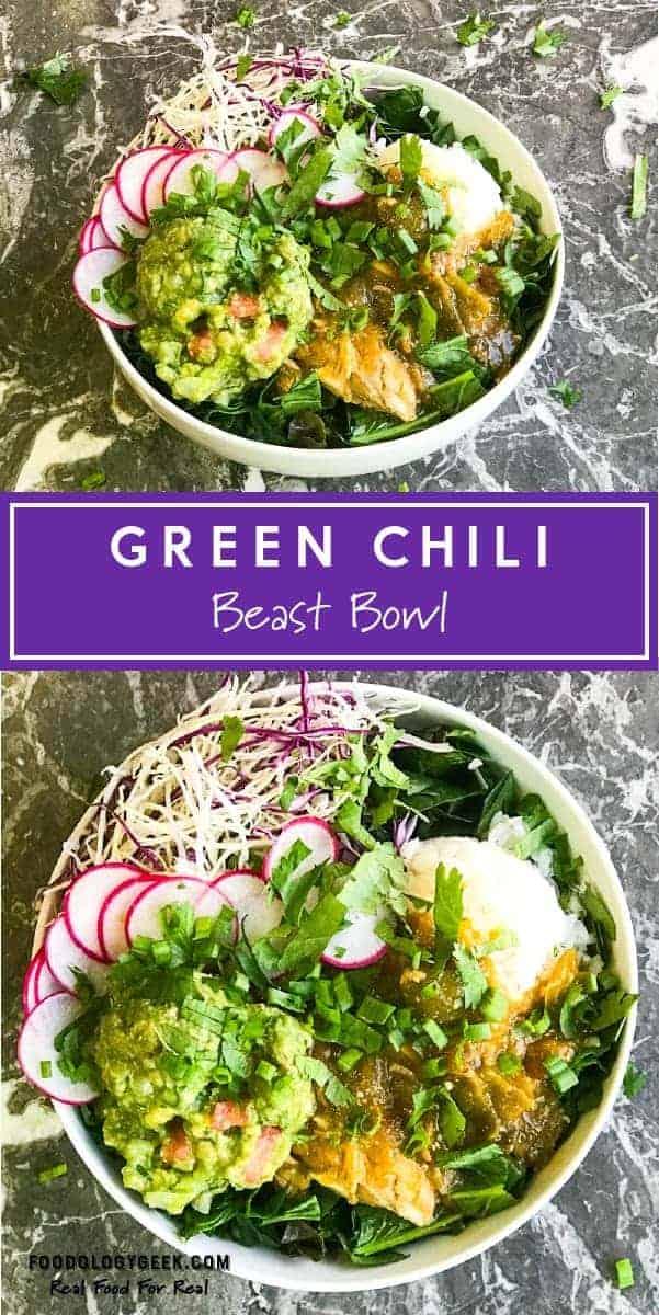 Green Chili Beast Bowl