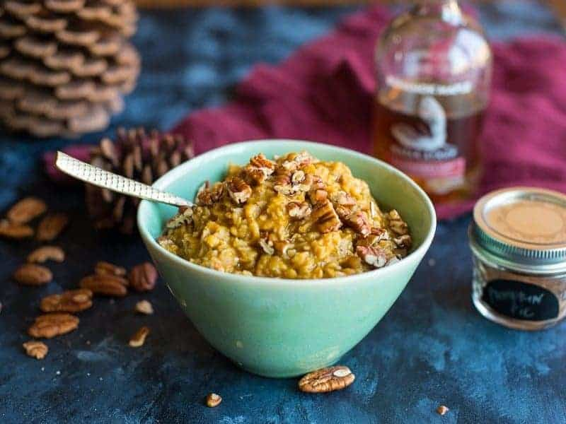 Spiced Pumpkin Oatmeal featured image