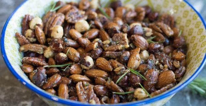 Spiced Nuts – Savory & Sweet