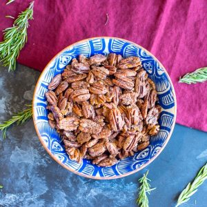 Sweet Candied Pecans
