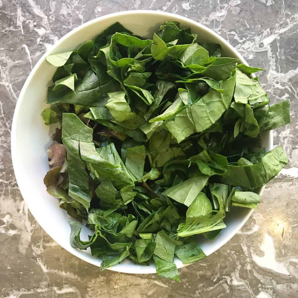 Add your healthy greens