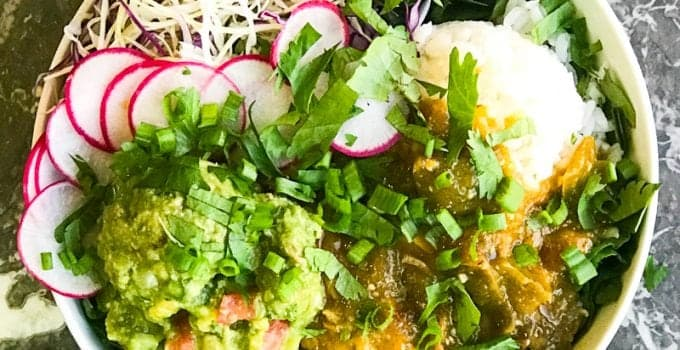 Green Chili Beast Bowl Recipe