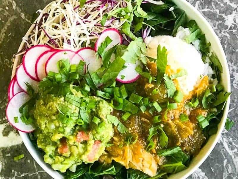 Green Chili Beast Bowl Recipe