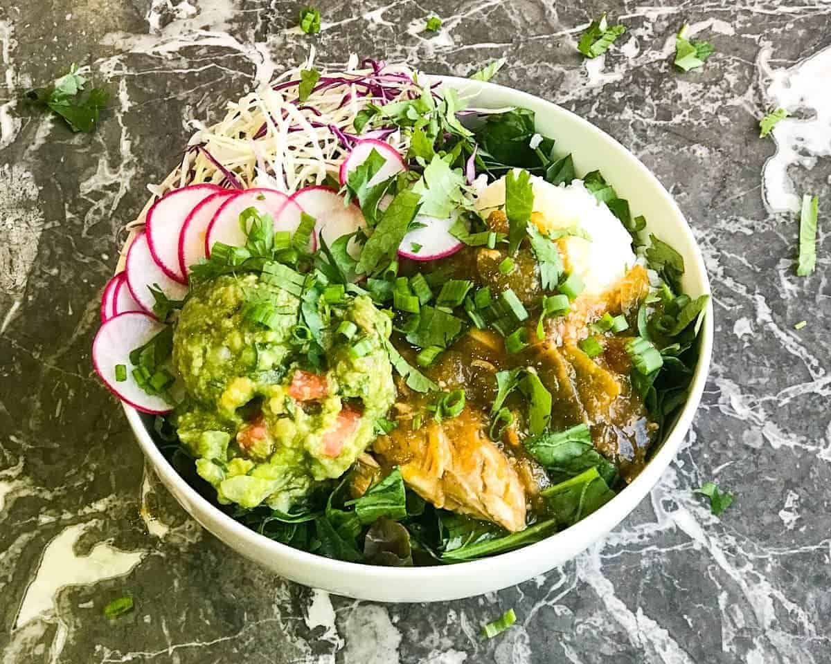 Green Chile Beast Bowl