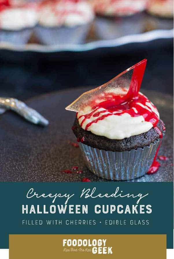 Creepy Bleeding Halloween cupcakes pinterest