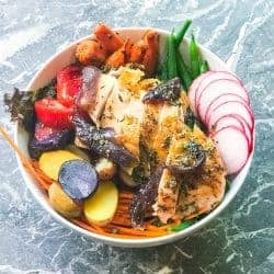 Roasted chicken Power Bowl