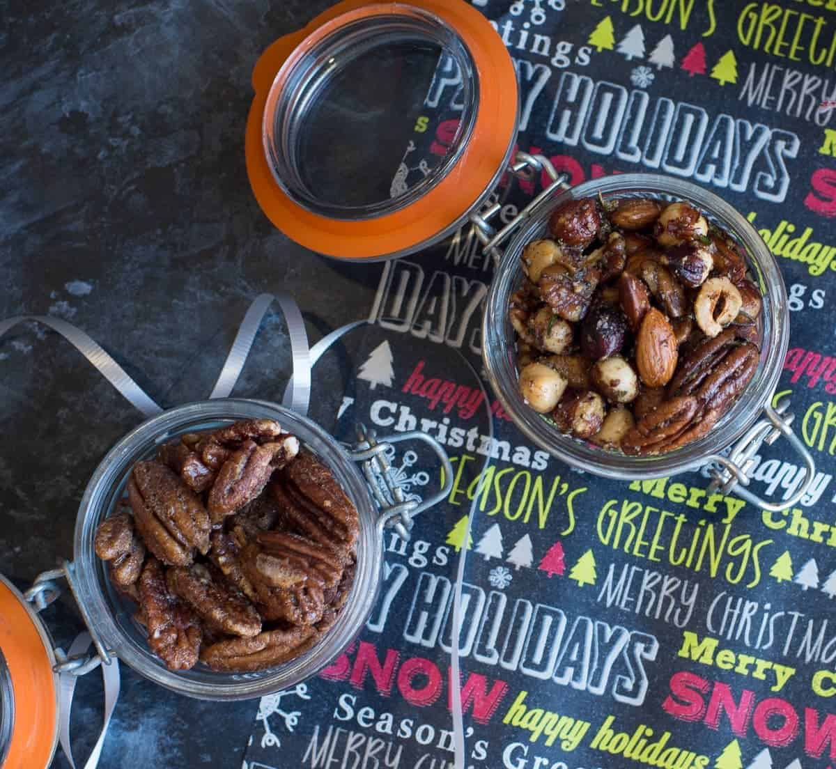 Sweet and Savory Nuts as Gifts