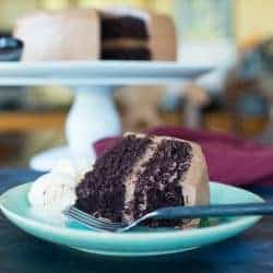 Dark Chocolate Mocha Cake Recipe