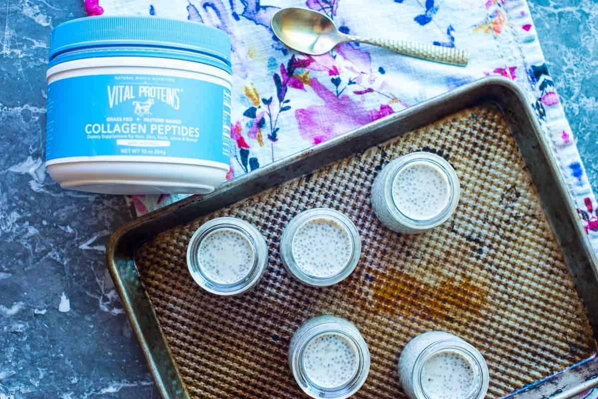 Dairy Free Chai Latte Chia Pudding