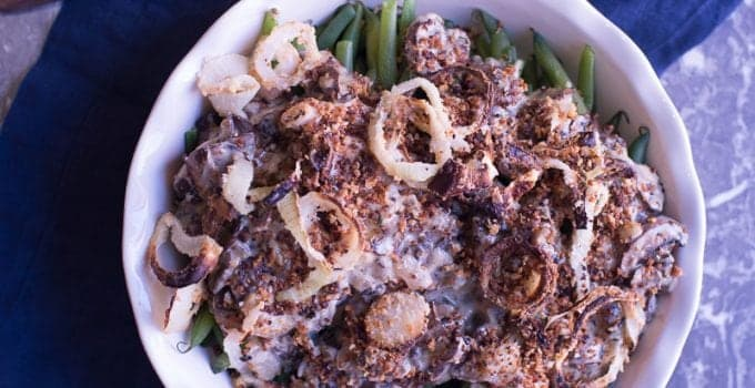 Elevated Green Bean Casserole
