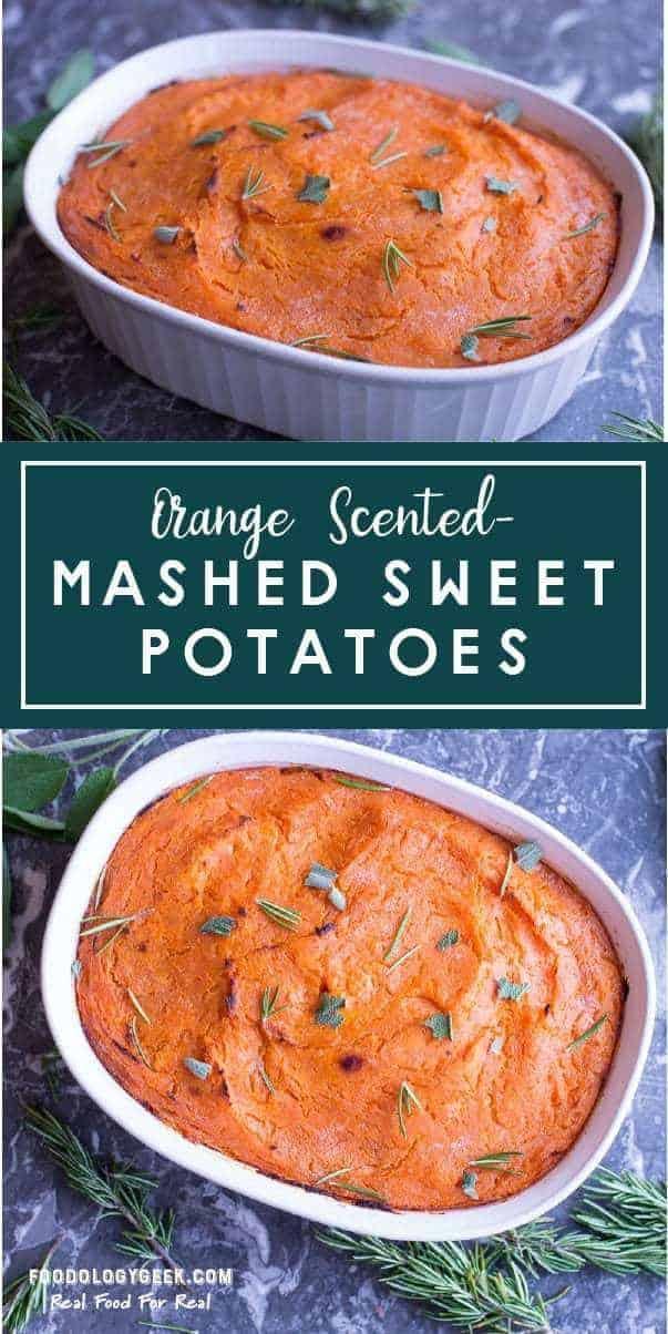 Mashed Sweet Potatoes Pinterest