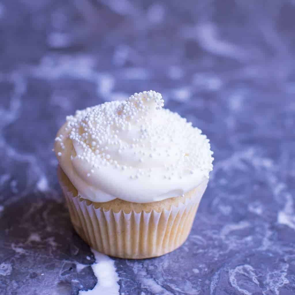 One Perfect Vanilla Cupcake