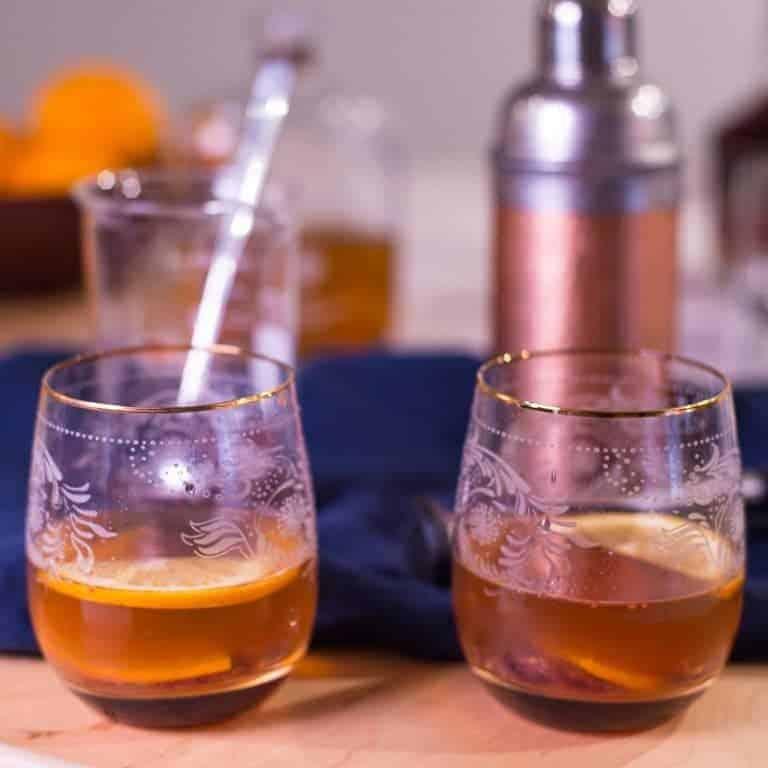 Orange Cranberry Old Fashioned recipe