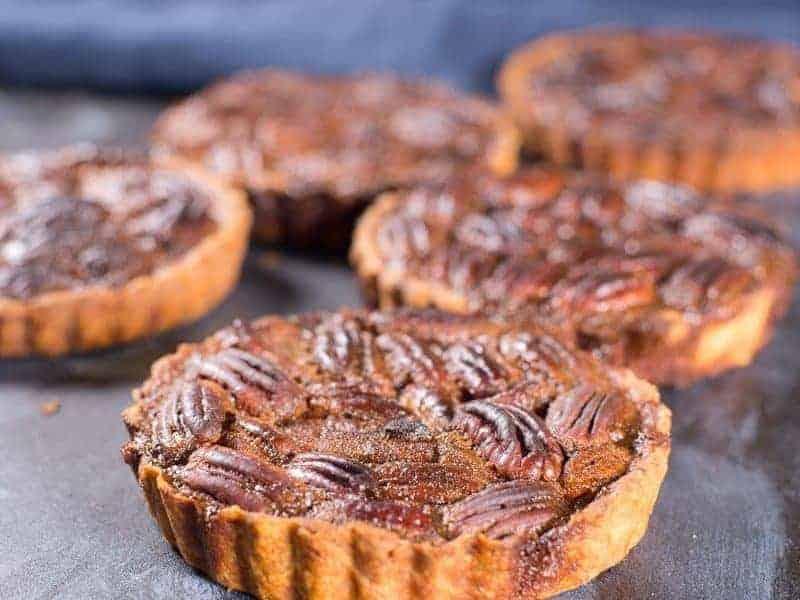 Pecan Pie Tartlets Recipe