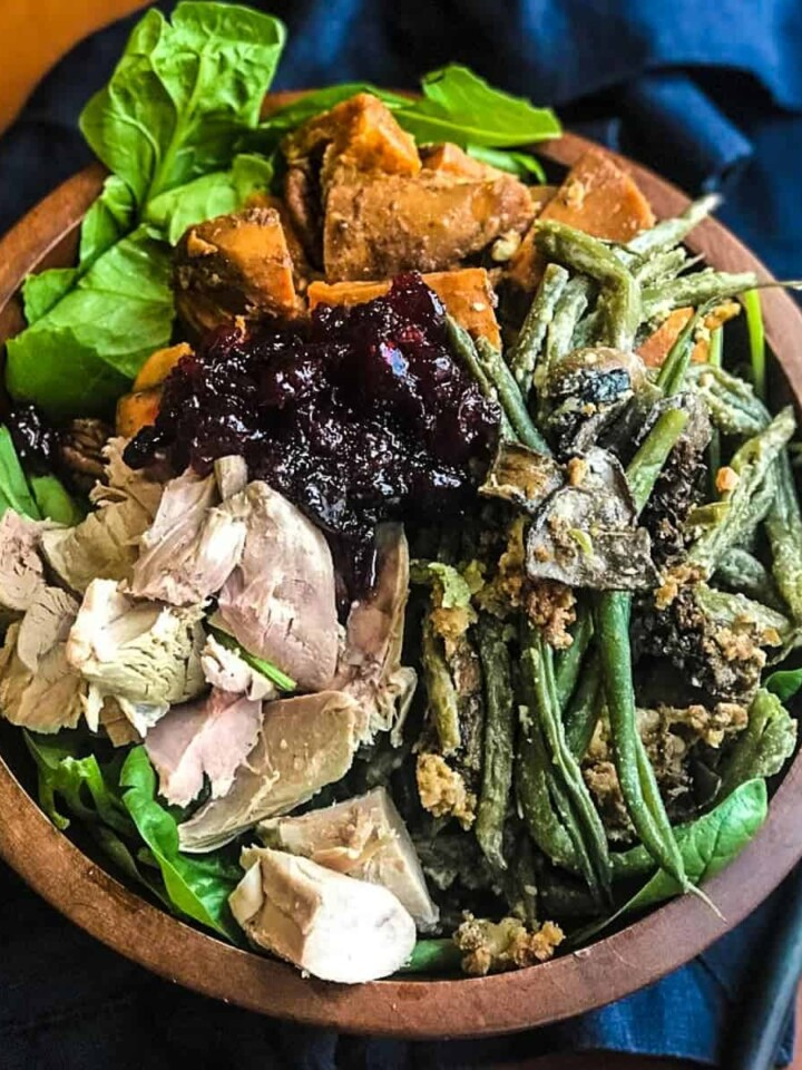 Thanksgiving Leftover bowl