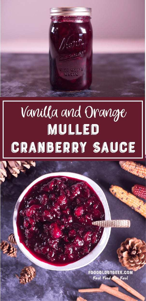 Mulled Cranberry Sauce Pin