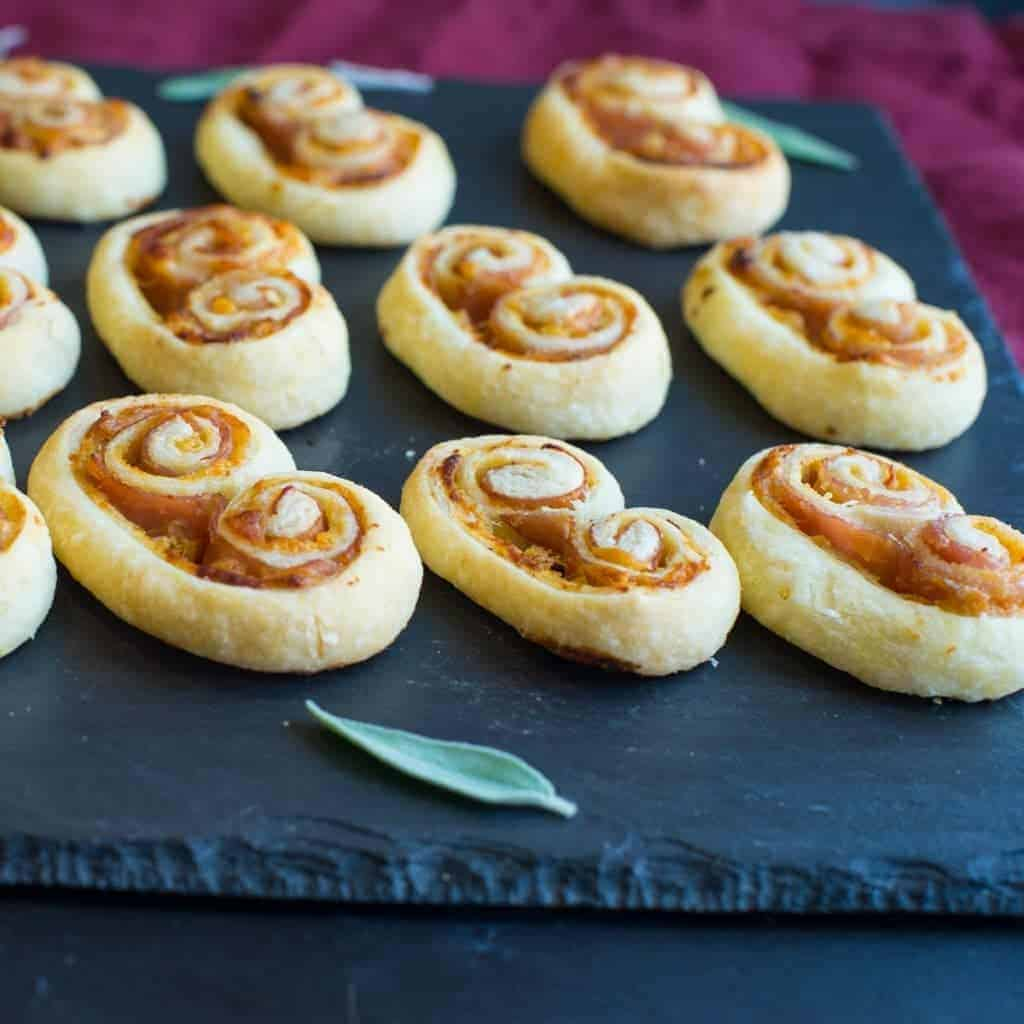 fantastically Easy Ham and Cheese Palmier Recipe