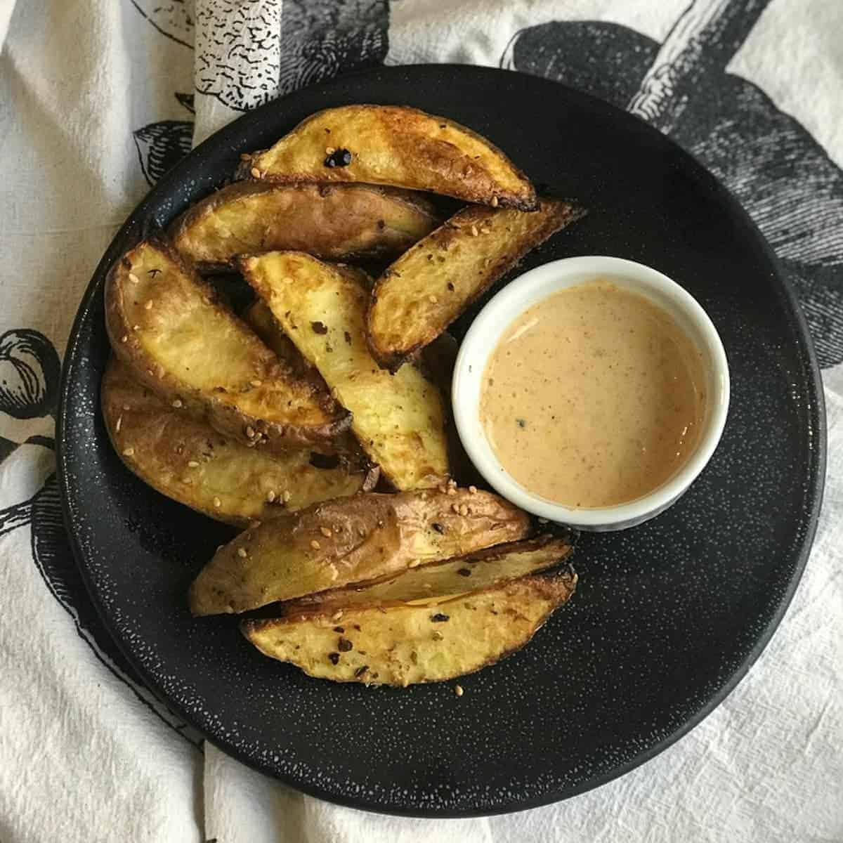 Roasted Potatoes with Chipotle Ranch