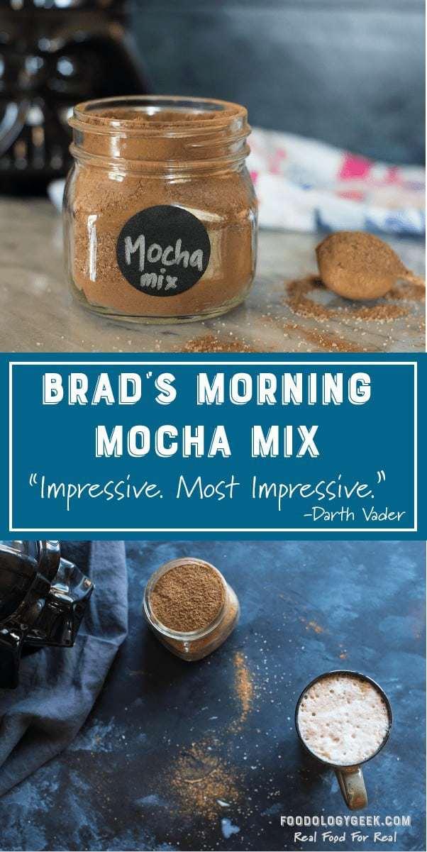 Brad's Morning Cafe Mocha Mix