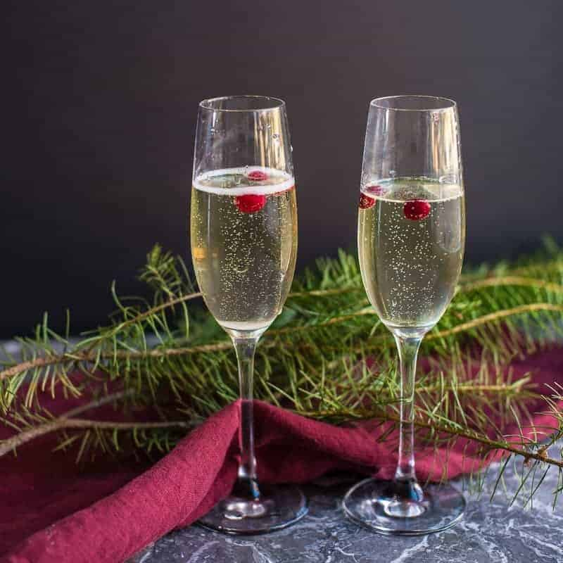 Christmas Champagne Cocktail Recipe