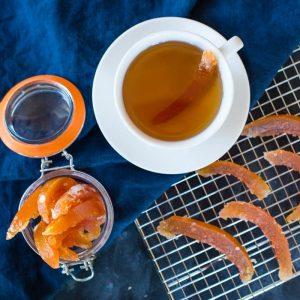 Candied Citrus Rind recipe