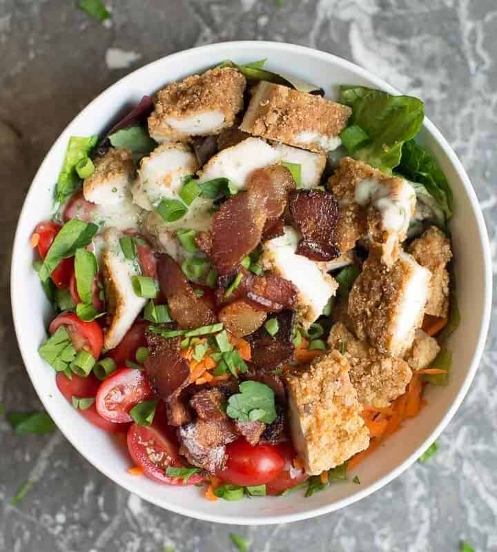 Fried Chicken Beast Bowl recipe