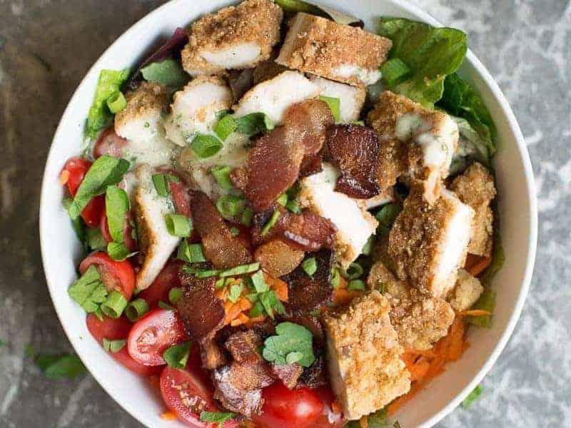 Fried Chicken Beast Bowl recipe