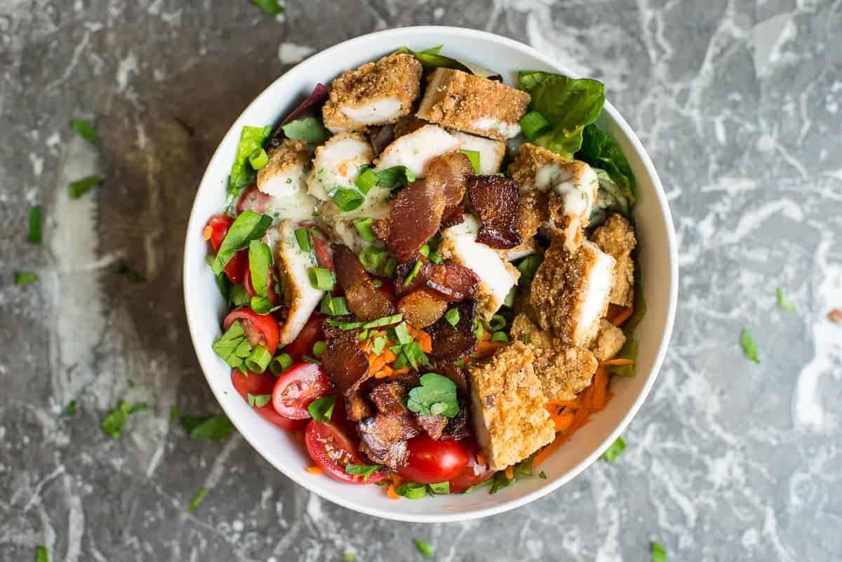 Fried Chicken Beast Bowl