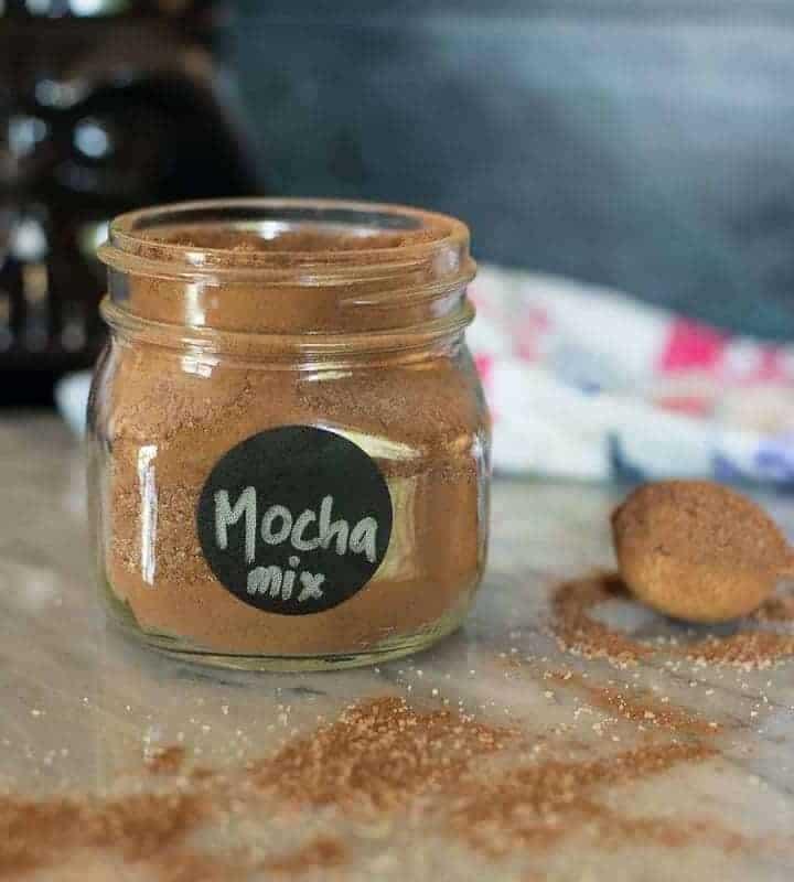 mocha drink mix recipe by foodology geek