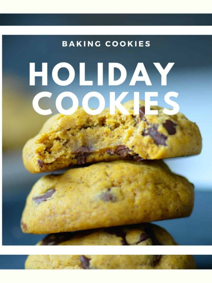 holiday cookies blog post featured image