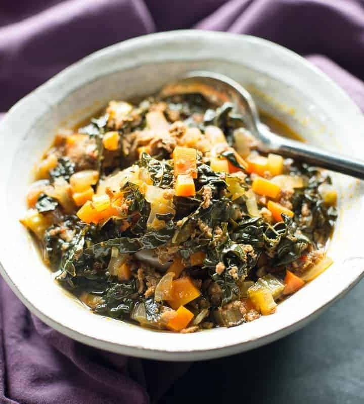 Spicy Chorizo and kale Soup Recipe